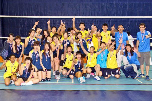 The 2012 Bangkok Patana Volleyball Invitational champions