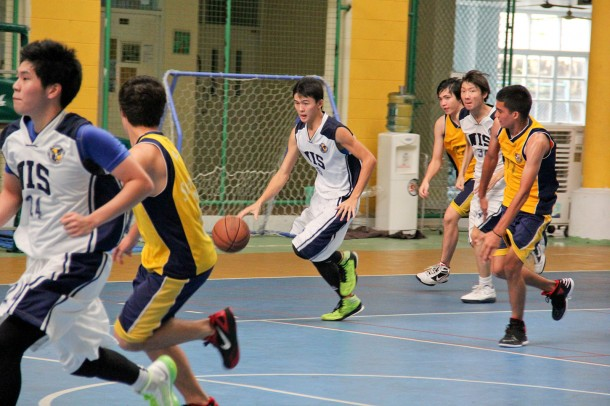 The WIS Seahawks defend their home court against St. Andrews