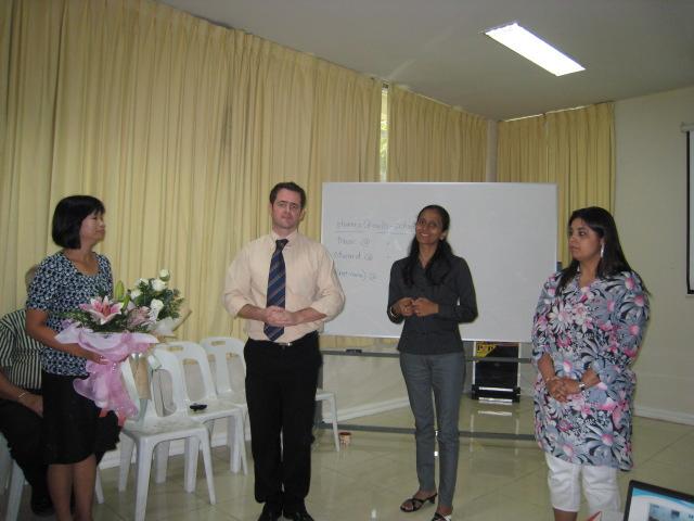 Appreciating PTO representatives for Academic Year 2008-09
