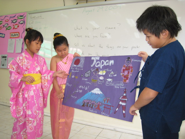 Student Presentation - Grade 3