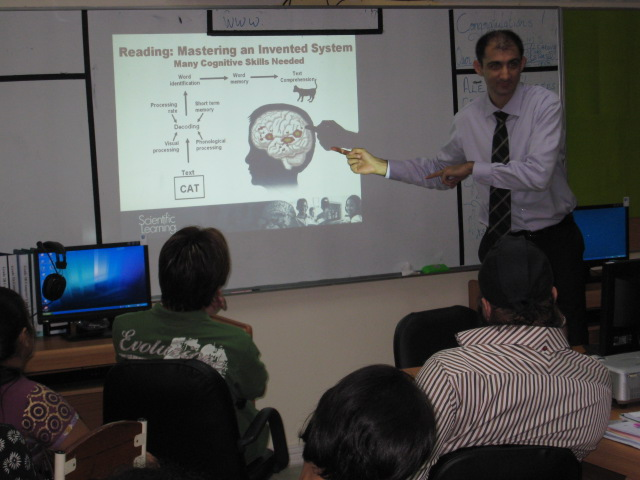 Brain regions responsible for English language acquisition