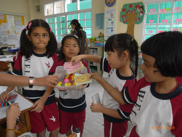 Learning the Concept of Money, Buying, Selling - Grade 1