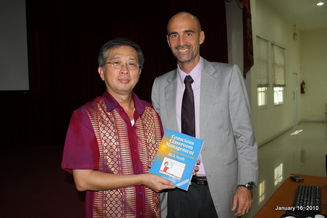 The Chairman, with Rick's National Bestselling Book