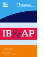 IB & AP Comparison