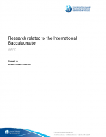 IB Research (2012)