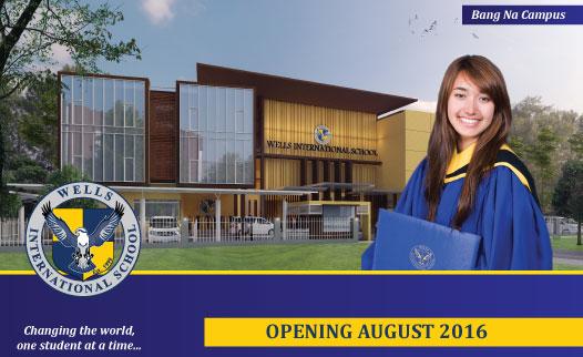 New building at Wells International School - Bang Na