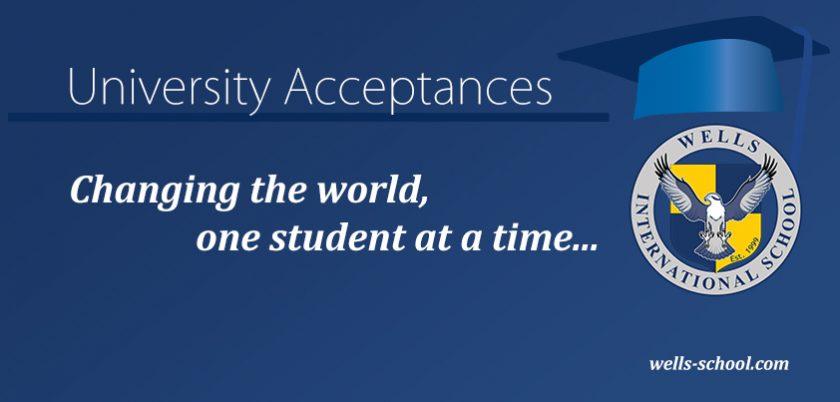 University Acceptances
