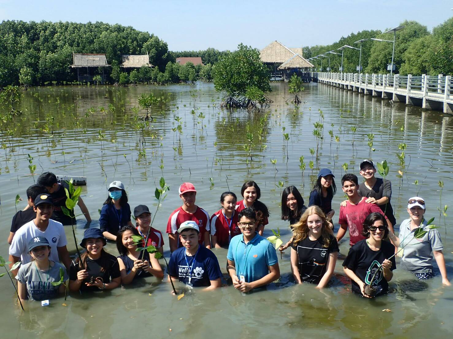 Tree Planting with ServICE schools 2017