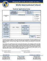 WIS Application Form