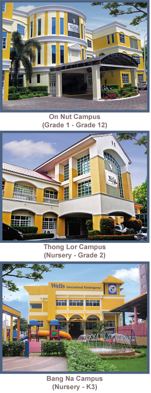 Wells International School Campuses