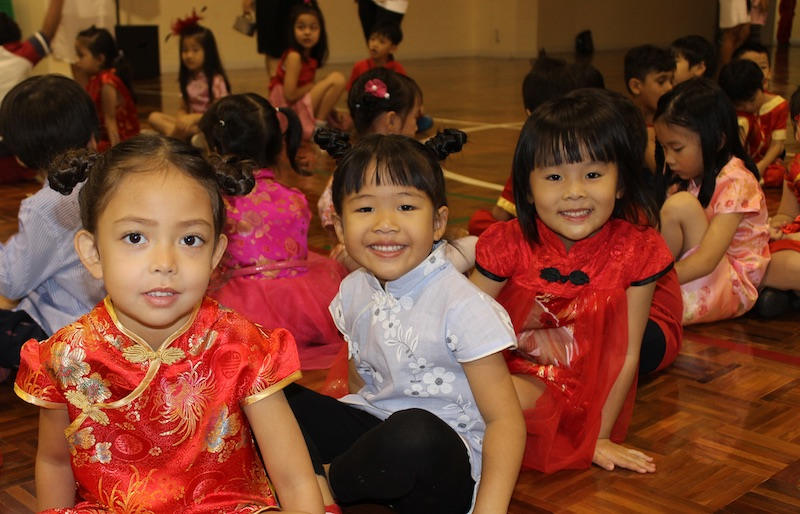 Wells Bangna kindergarten pic chinese new year