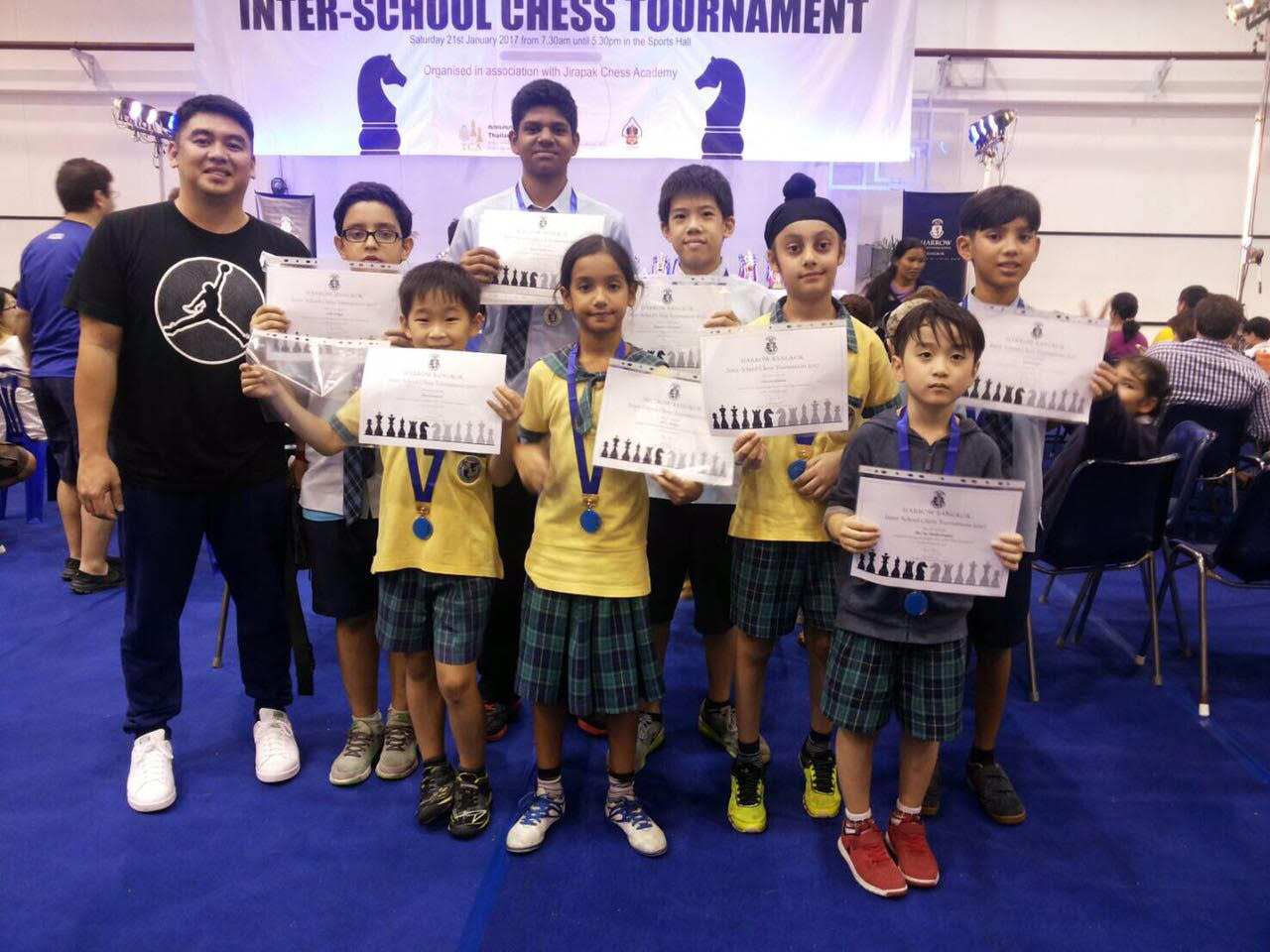 2017 - Inter-school Chess tournament group