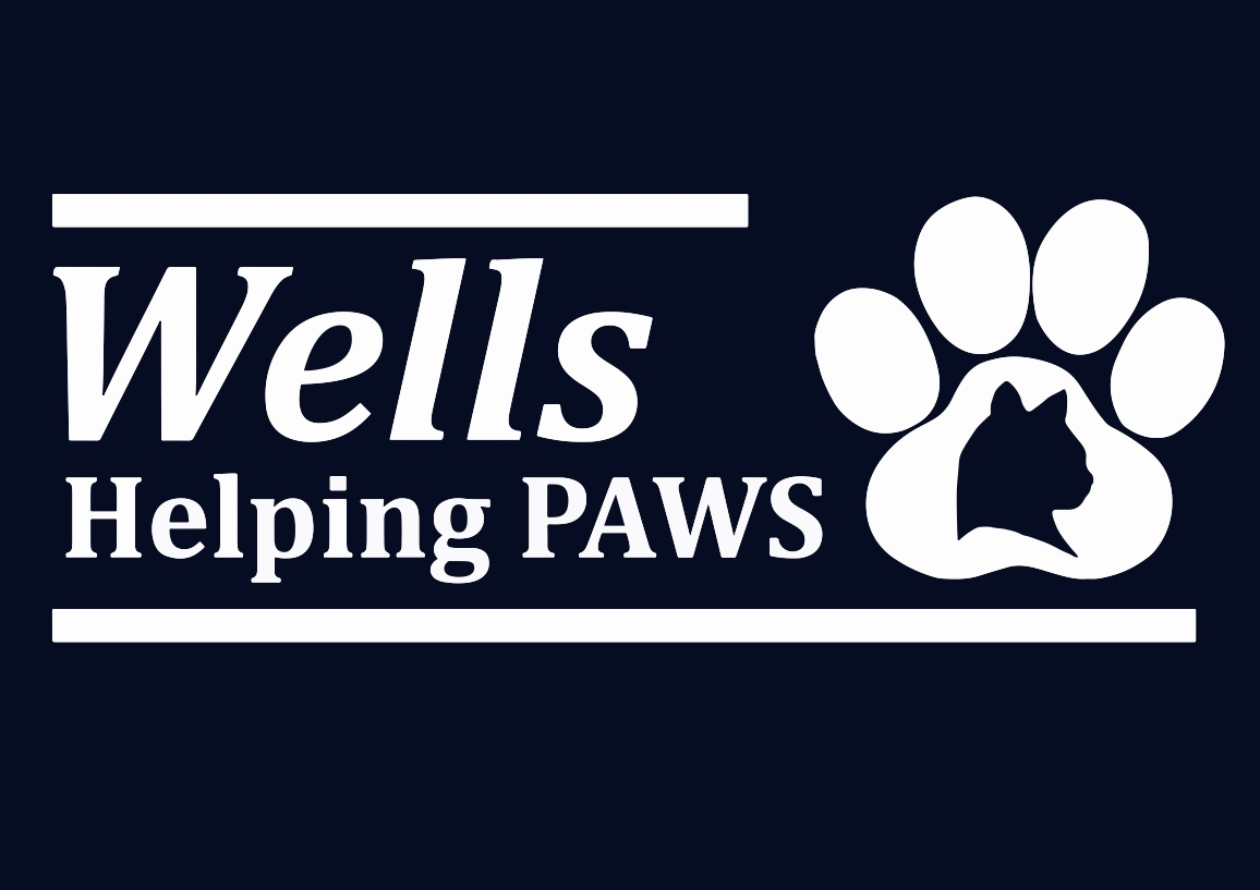 Wells Helping Paws Logo