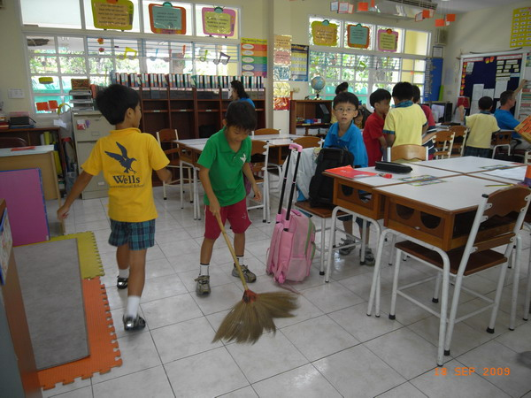 School Cleaning Day