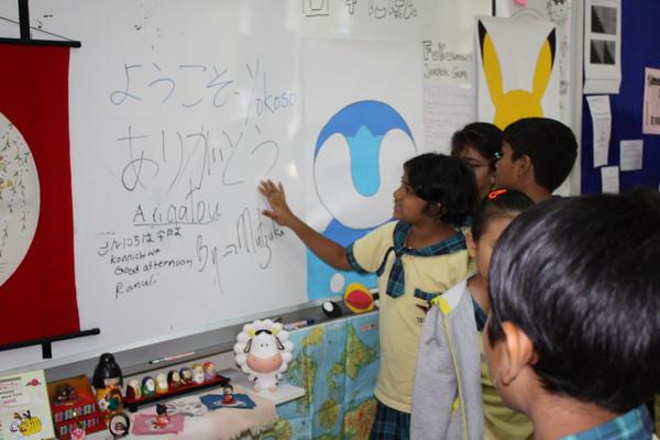 Peer-teaching Japanese Writing