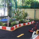 Kids' Fun Zone covered with soft rubber
