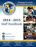 2014-2015 WIS Staff Handbook-WEB