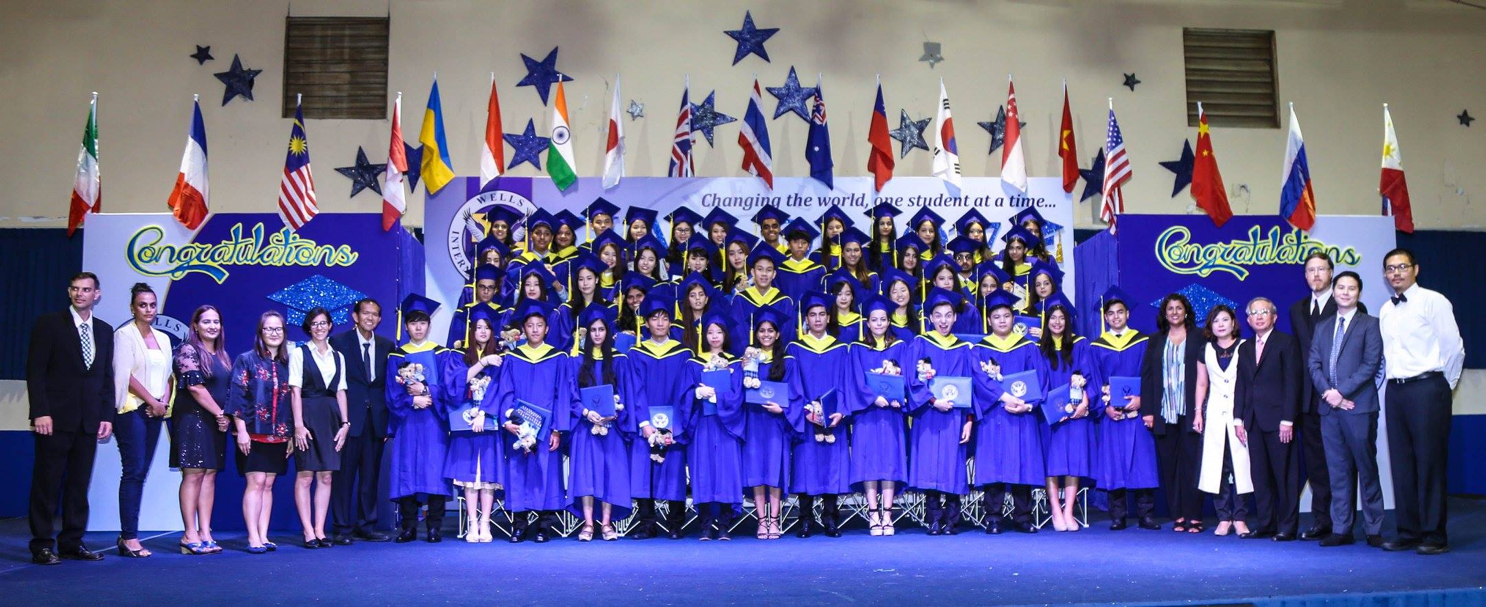 Wells Class of 2017 Graduation pic 2