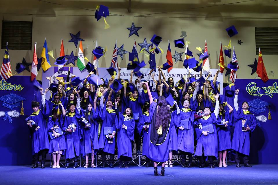 Wells Class of 2017 Graduation pic 1