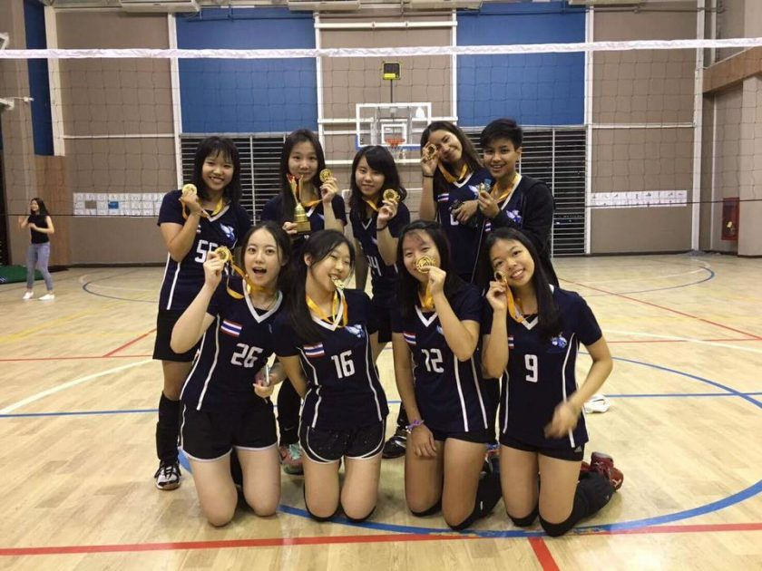 Varsity Volleyball Season Ends on a High Note