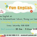 Learn fun english at Thong Lor campus