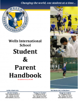 WIS – Student and Parent Handbook