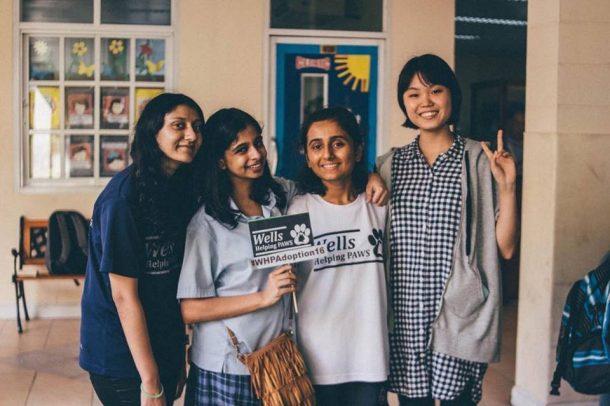 Wells IB CAS Students