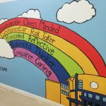 Wells Bang Na second Grade Mural Project