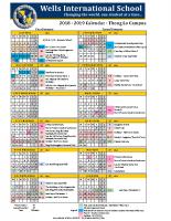 2018-2019 Calendar – Thong Lo