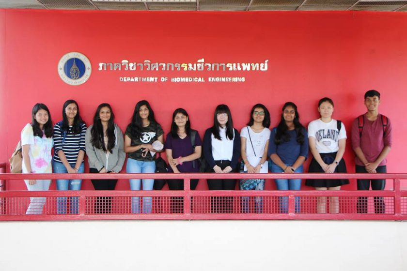 Mahidol Biomedical Engineering Internships 2018