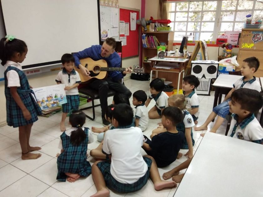 Reading Is Our Thing at Wells Thong Lo Campus