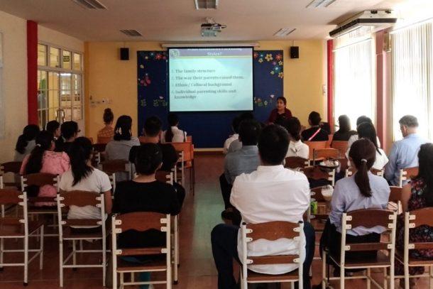 Parenting Workshop, Wells Thong Lo