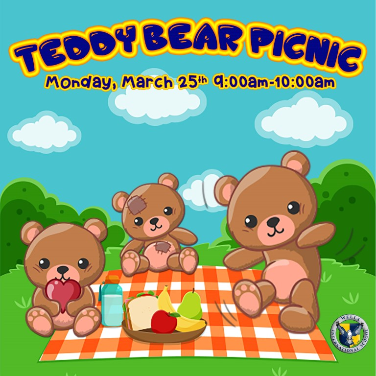 Nursery & K1 Teddy Bear Picnic Assembly | Wells Thong Lo Campus