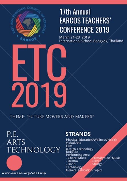 EARCOS Teacher's Conference 2019 - International School Bangkok