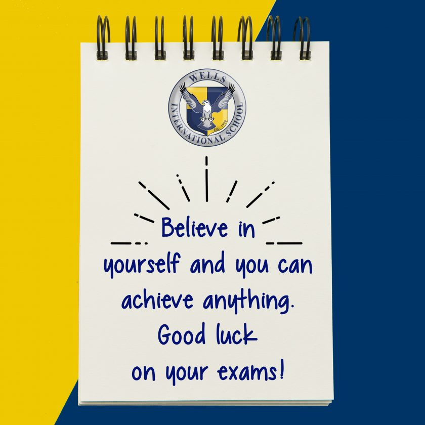 Good Luck on AP and IB Exams!