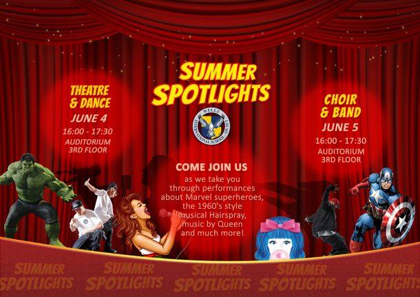 Summer Spotlights Wells International School