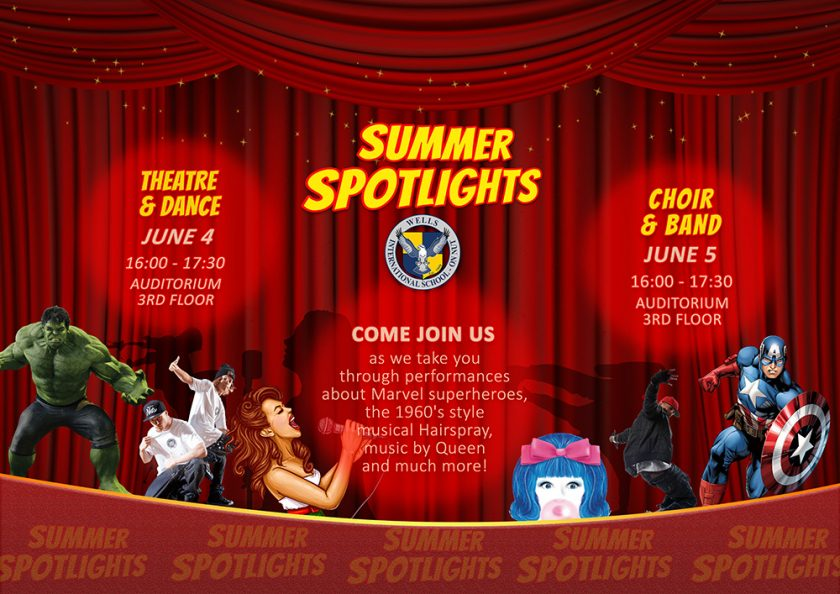 Summer Spotlights Wells International School