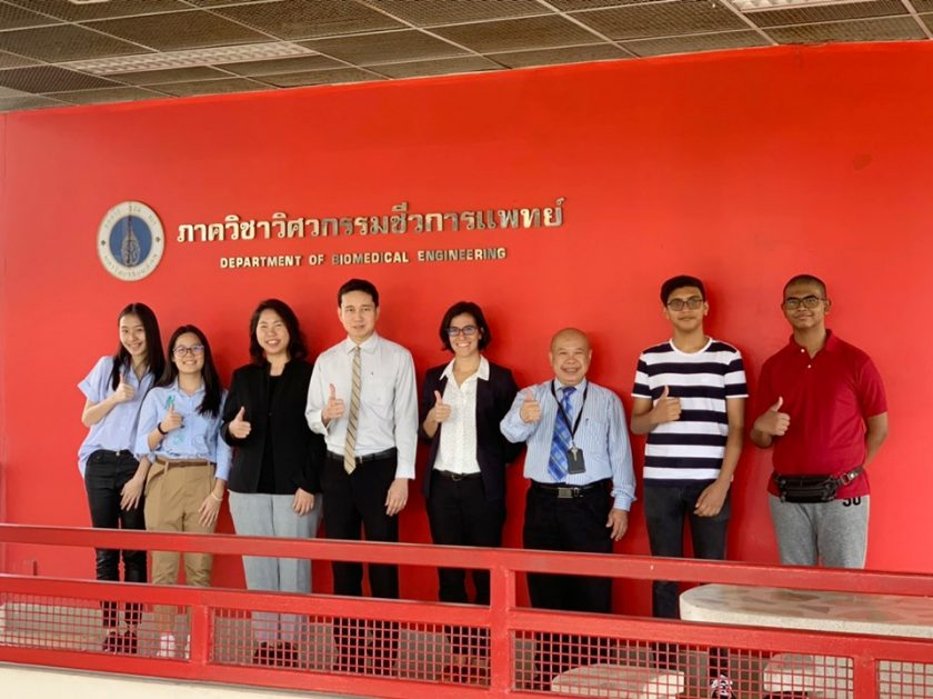 Mahidol Biomedical Engineering Internships 2019