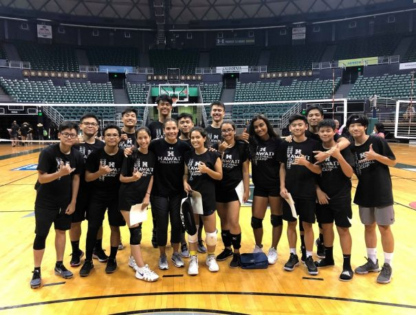 UH Volleyball Camp – 1