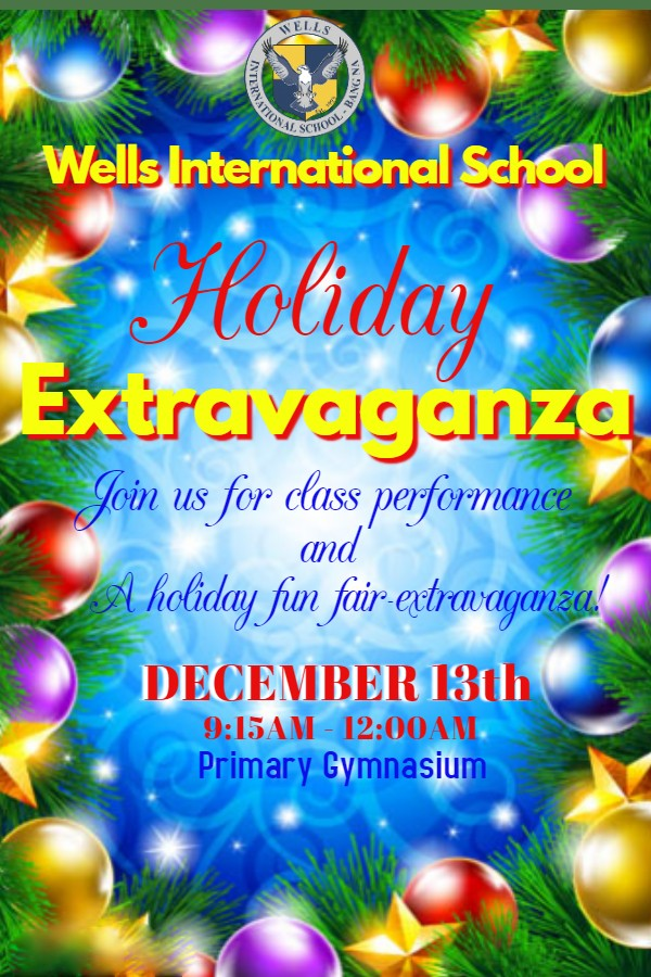 Wells Bang Na Holiday Extravaganza