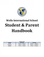 Student & Parent Handbook