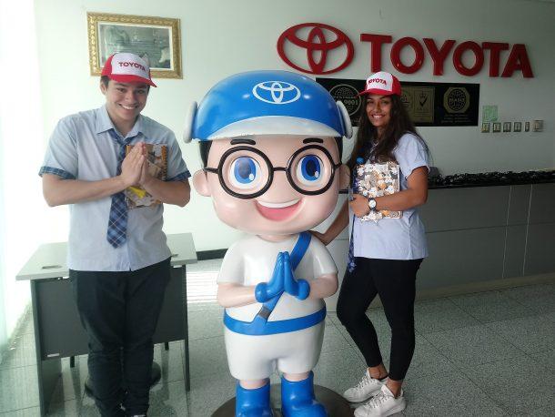 Toyota Factory field trip