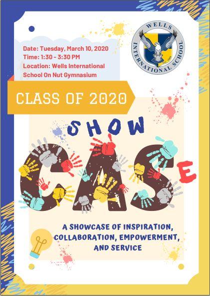 INVITATION: Class of 2020 CAS Showcase