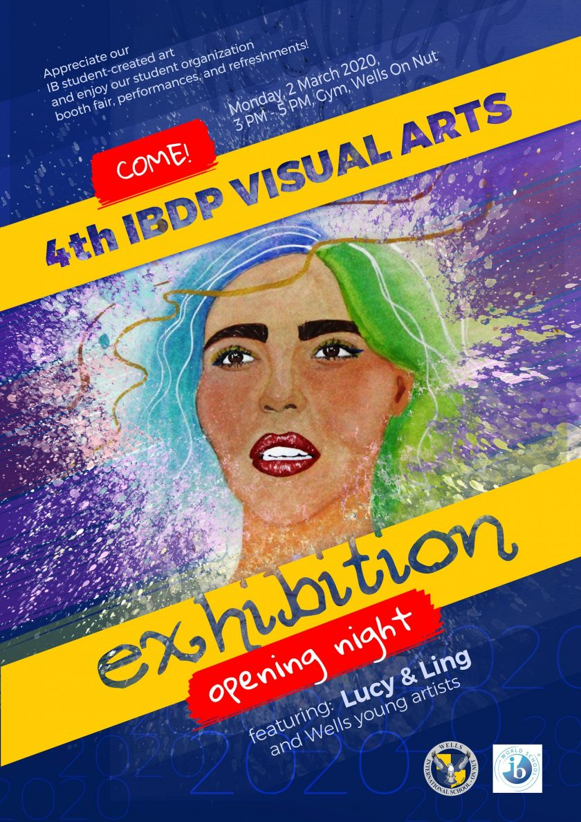 INVITATION: 4th Annual IB Visual Arts Exhibition