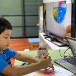 Distance Learning at Wells International School