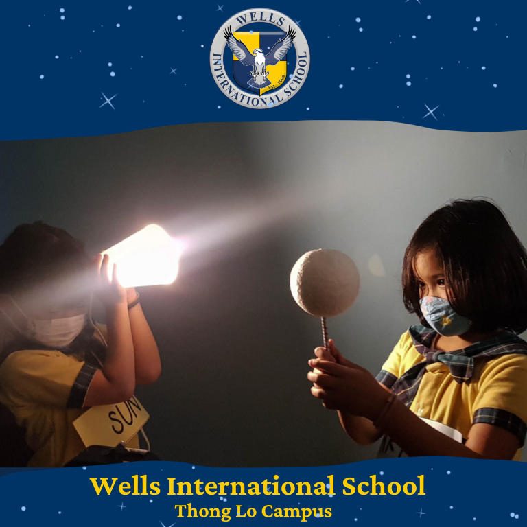 Wells Thong Lo| Light Experiment by Grade 2A
