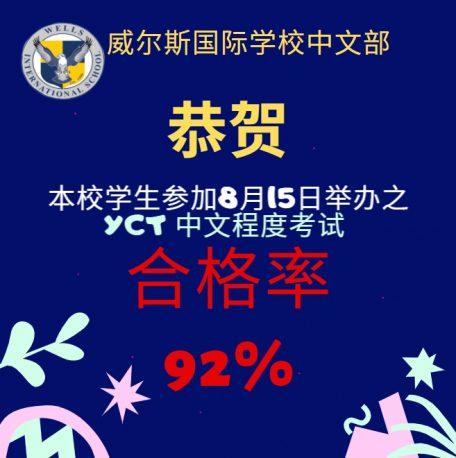 YCT 92% PASSED-S
