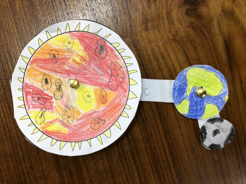 Grade 2 Solar System Inquiry